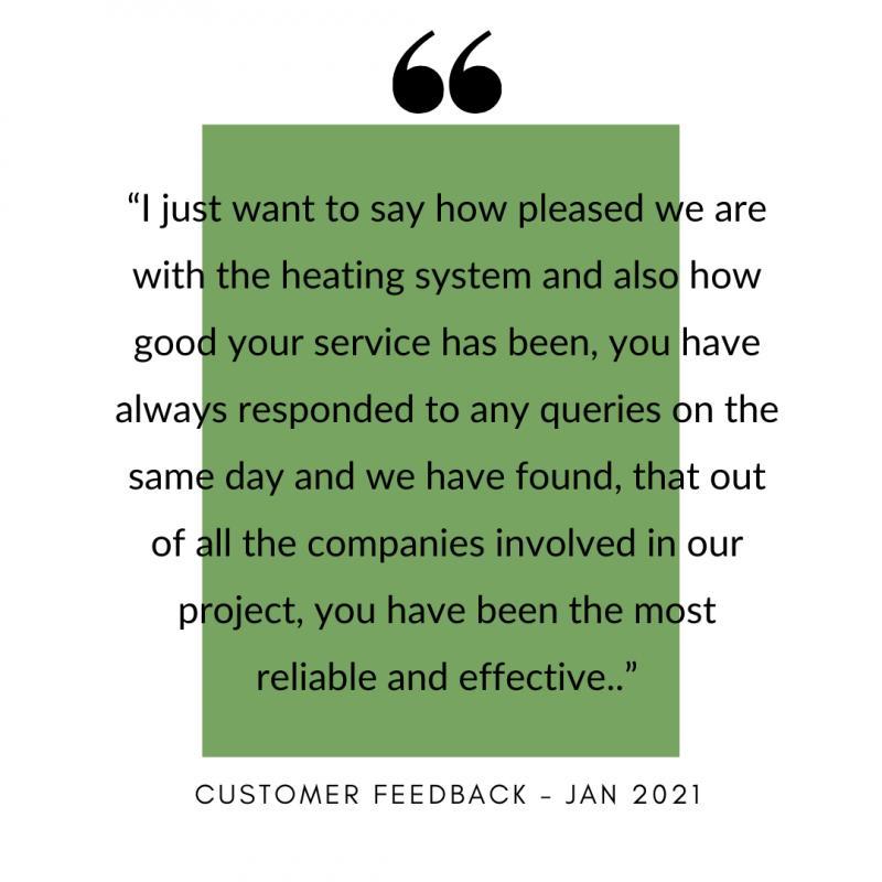 Customer Reviews - Jan 2021