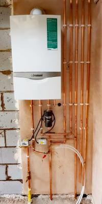 Larger house required high hotwater flow