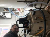 Powerflushing of heating system