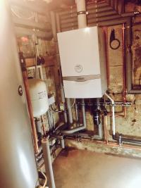 Recent system boiler installation
