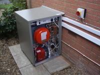 Grant Combination Oil fired boiler