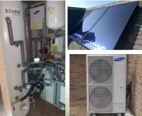 Solar Thermal & Heat Pump installation