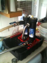 A new flushing machine