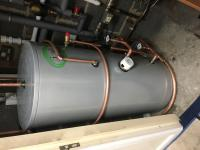 Unvented Water Tank Installation
