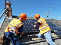 Domestic Solar PV Install