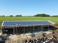 33 kWp on a dairy