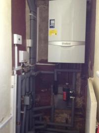 Vaillant system boiler with unvented hot water