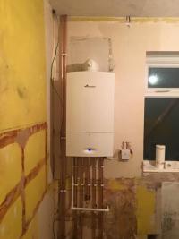 New Worcester combination boiler