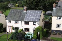 Example of a Domestic Solar PV Array
