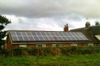 Dual 8 kw system on domestic property