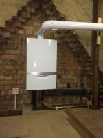 New Vaillant boiler installed in loft