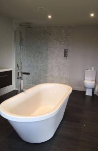 A new bathroom suite