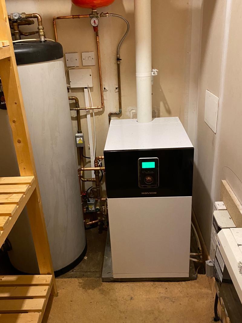 Navien System Boiler