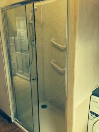 New shower installation for a elderly couple