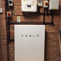 Solar PV and Tesla Battery