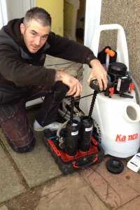 Heavy Duty Power Flushing.
