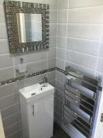 Downstairs Cloakroom Full Install Tiled Throughout