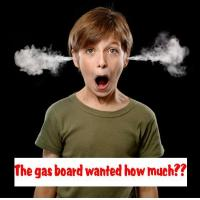 We will beat the gas board by at least £1000 guranteed