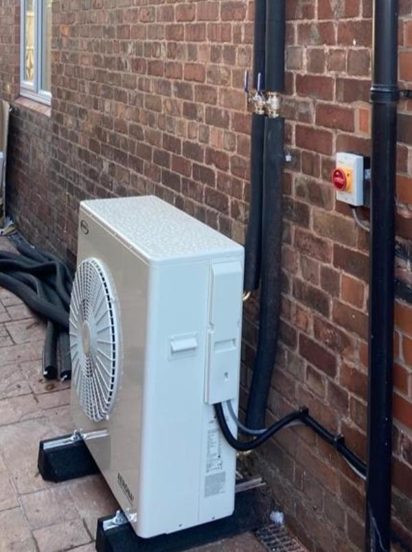 10kW Grant Air Source Heat Pump
