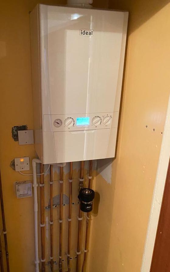 Ideal boiler swap