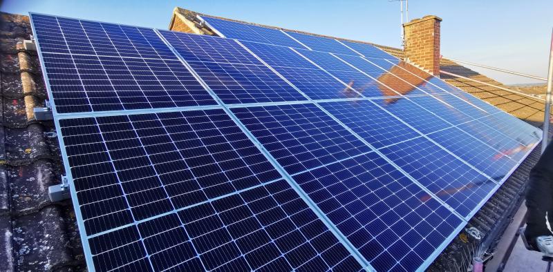 6.9KW domestic solar