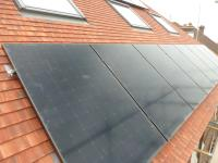 3.924kWp Sunpower Array installed on New Malden home