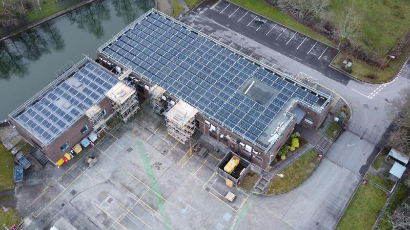 84kW Solar PV On Commercial Property at Bournemouth