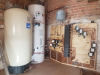 Hot water cylinder and system upgrade Ashford Kent