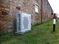 8.5KW Air source heat pump Alnwick Northumberland