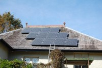 3kWp Sanyo HIT 250W system in Chester, Oct.2011