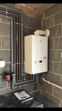 New ideal boiler installed