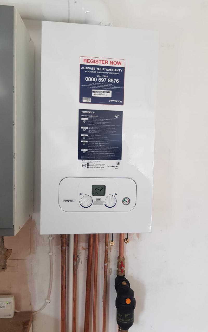 Potterton Boiler Installation