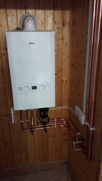 Back boiler conversion to combi boiler