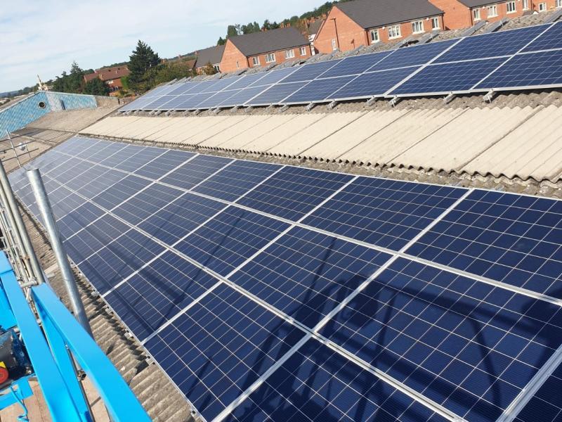 40kWp Installation in Sheffield