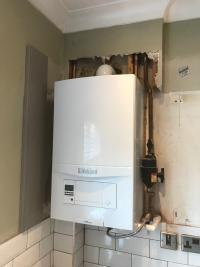 Standard like for like boiler swap
