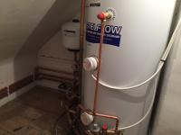 Electric boiler install