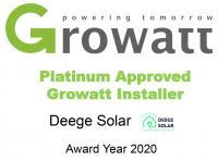 We are Platinum Growatt Partners!