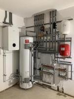 Full heating system installation