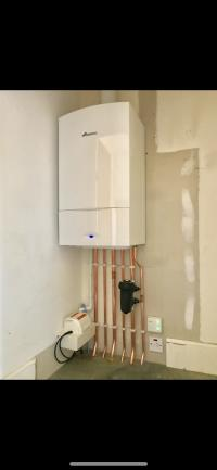 Worcester combi boiler installation with Hive thermostat