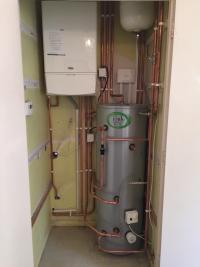 New Alpha Boiler installation