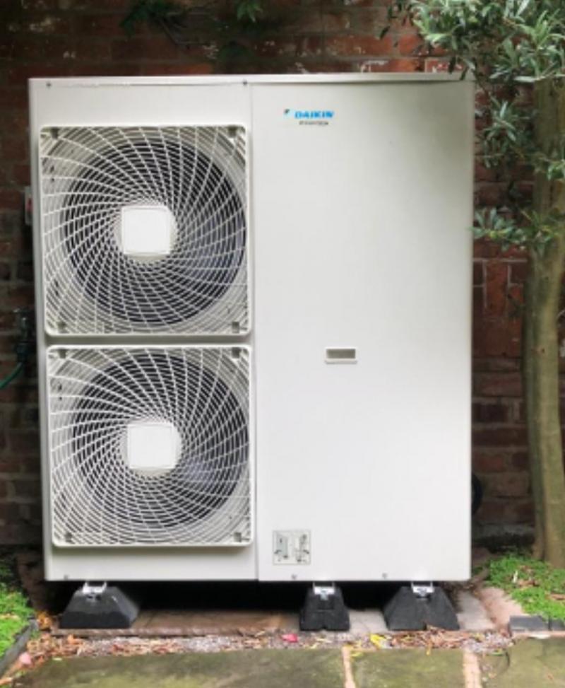 14kW Daiken Air Source Heat Pump