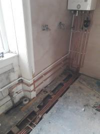 combi boiler installation & pipework