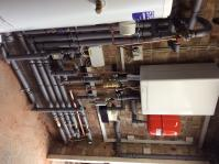 Unvented Intergas system boiler in loft with Unvented cylinder in Carshalton