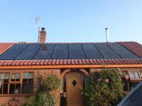 In roof array, 4.0 kW, Perlight panels, Scraby