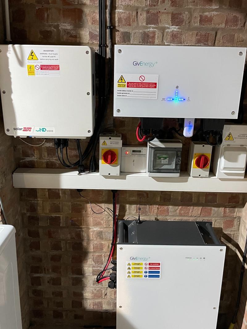 SolarEdge Optimisation with GivEnergy Battery Storage