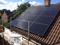 A 4kWp domestic PV system near Bicester.