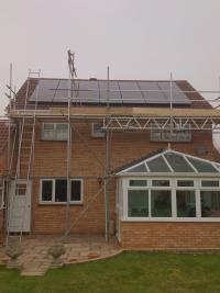 3.71kW Solar PV installation in Kempston, Bedford