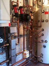 Davington priory heating upgrade