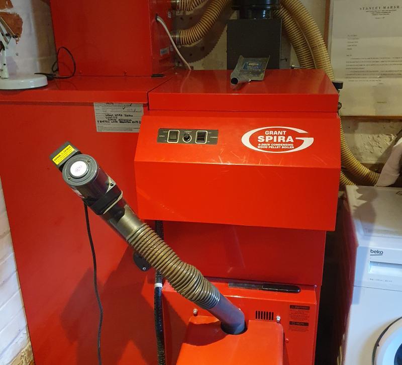 Grant Spira Wood Pellet boiler