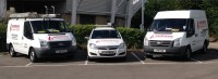 Picture of our vans